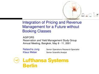 Integration of Pricing and Revenue Management for a Future without Booking Classes