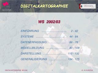 DIGITALKARTOGRAPHIE