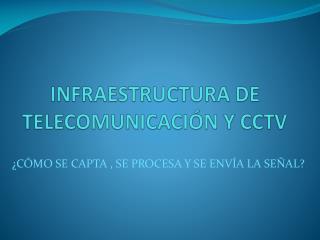 INFRAESTRUCTURA DE TELECOMUNICACIÓN Y CCTV