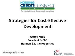 Strategies for Cost-Effective Development