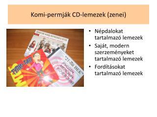 Komi-permják CD-lemezek (zenei)