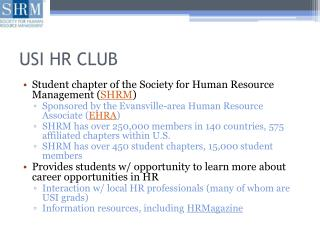 USI HR CLUB