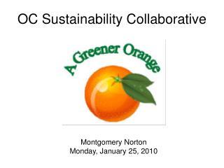 OC Sustainability Collaborative