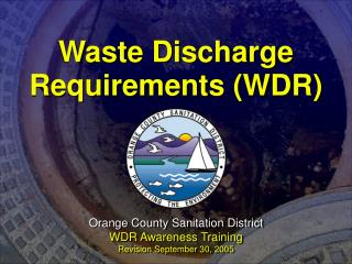 Waste Discharge Requirements (WDR)