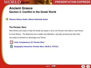 The Age of Pericles and Direct Democracy