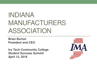 The Pennsylvania Manufacturers  Association