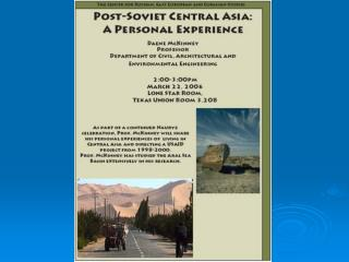 Post-Soviet Central Asia
