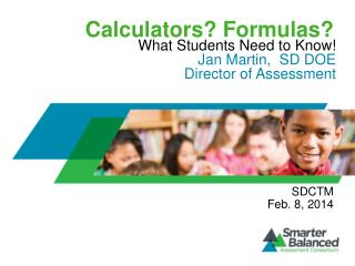 Calculators? Formulas?