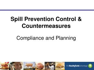 Spill Prevention Control & Countermeasures