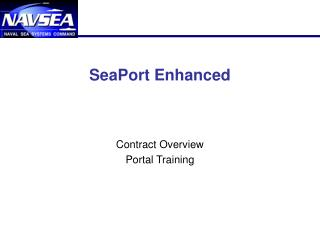 SeaPort Enhanced