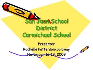 San Juan School District  Carmichael School