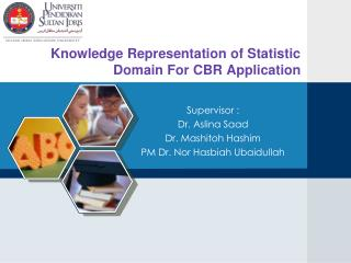 Knowledge Representation of Statistic Domain For CBR Application