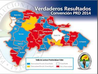 Proceso  de Convención Partido Revolucionario Dominicano Domingo 20 de julio de 2014