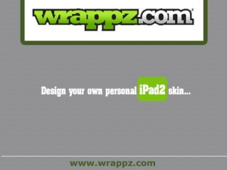 iPad 2 Skins and Cases by Wrappz.com