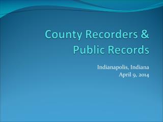 Indianapolis, Indiana April 9, 2014