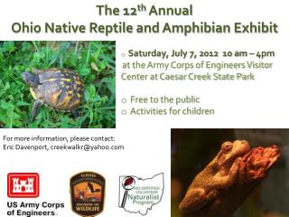 Saturday, July  7, 2012   10 am – 4pm
