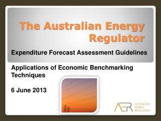 The Australian Energy Regulator