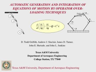 AUTOMATIC GENERATION AND INTEGRATION OF EQUATIONS OF MOTION BY OPERATOR OVER-LOADING TECHNIQUES