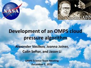 Development of an OMPS cloud pressure algorithm