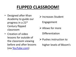 FLIPPED CLASSROOM!