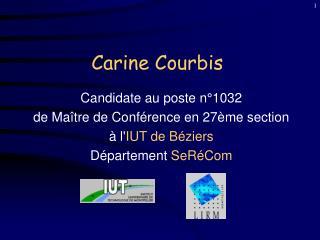 Carine Courbis