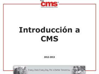 Introducción a CMS