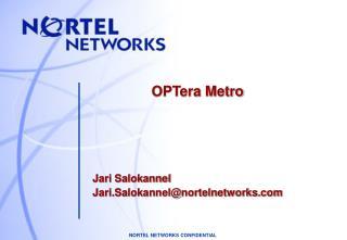 OPTera Metro