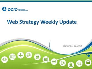 Web Strategy Weekly Update