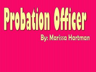 Probation Officer