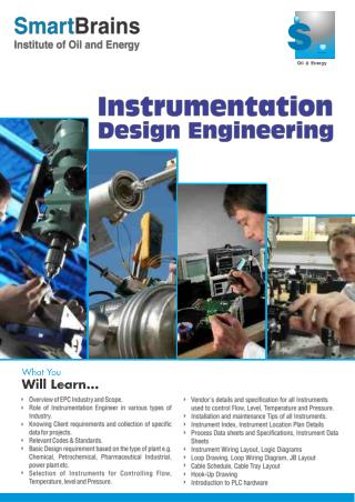 Instrumentation Design Engineering in Vadodara