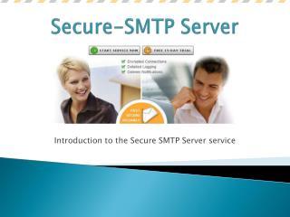Secure-SMTP Server