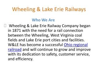 Ohio regional railroad