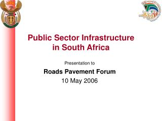 Public Sector  Infrastructure in South Africa