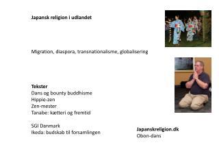 Japansk religion i udlandet