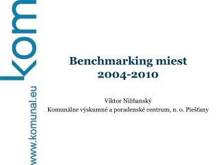 Benchmarking miest  2004-2010