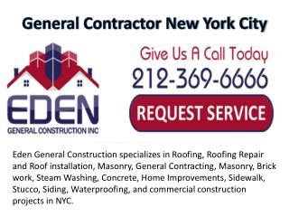 General Contractor NYC