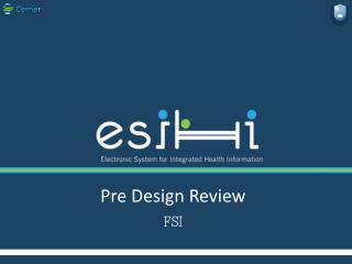 Pre Design Review  FSI
