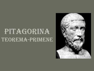 PITAGORINA  TEOREMA-primene