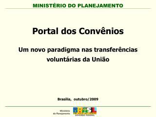 Brasília,  outubro/2009