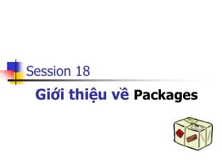 Giới thiệu về Packages