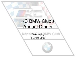KC BMW Club's Annual Dinner