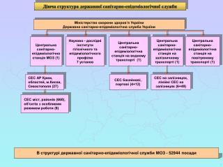 Міністерство охорони здоров ' я України Державна санітарно-епідеміологічна служба України