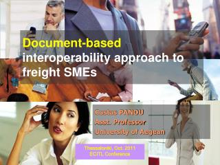 Document-based  interoperability approach to freight SMEs