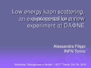 Low energy kaon scattering, an experimental overview