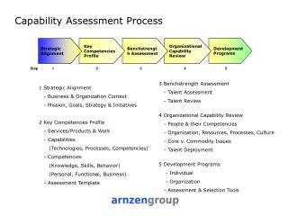 Capability Assessment Process