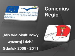 """""""Mix wielokulturowy wczoraj i dziś""""  Gdańsk 2009 - 2011"""
