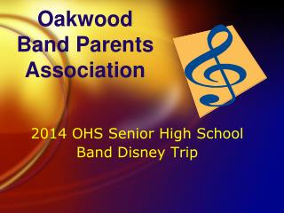 Oakwood  Band Parents Association