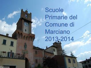 Scuole Primarie del Comune di Marciano 2013-2014