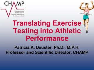 Translating Exercise Testing into Athletic Performance