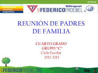 REUNI�N DE PADRES DE FAMILIA